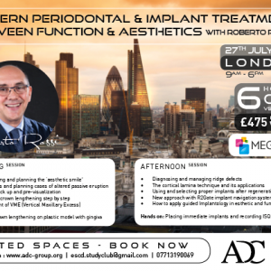 Roberto Rossi Modern Periodontal Therapy, between function and Esthetics